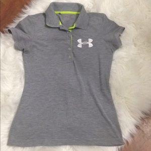 Under Armour Women Shirt Top Size SM Short Sleeve